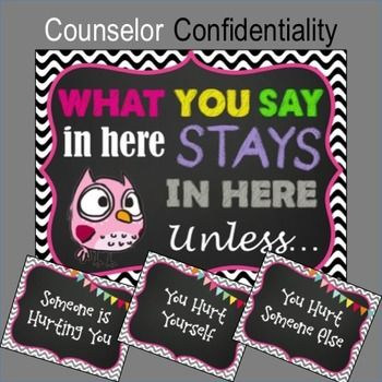 Confidentiality Rules